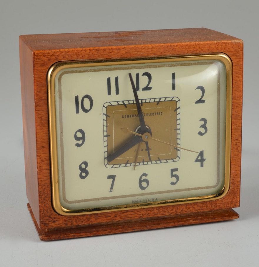 Electric Alarm Clock ~ Vintage general electric alarm clock ebth