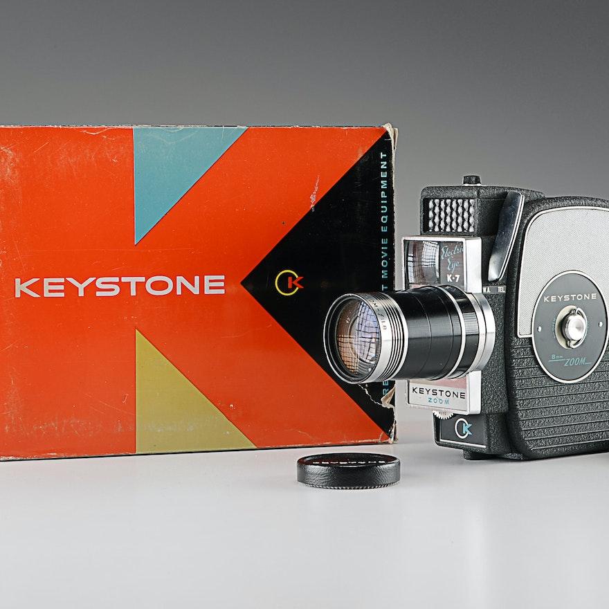 Vintage Keystone K-7 Roll Film Camera