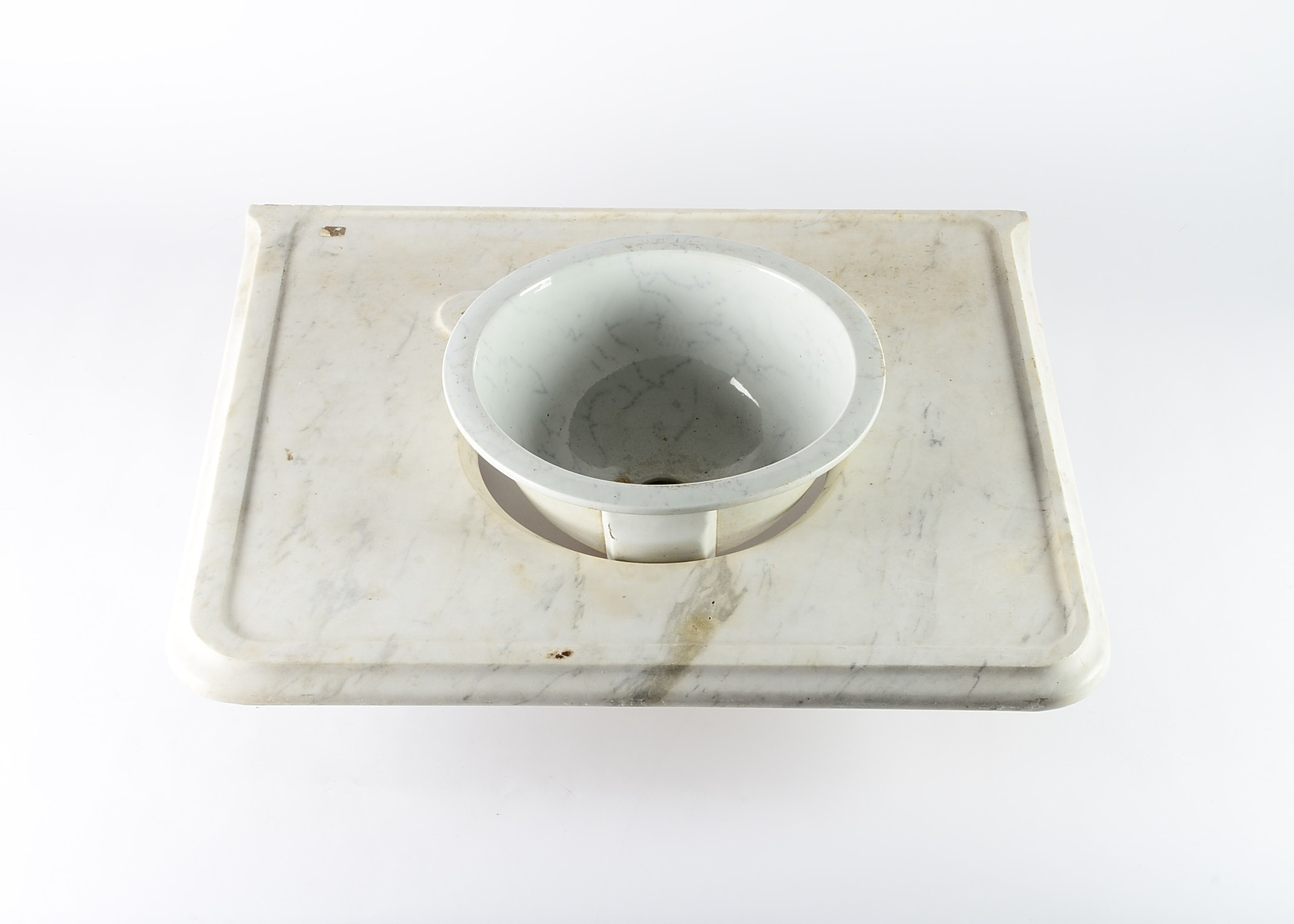 Tc Brown Westhead Moore U0026 Co Marble Antique Marble Sink Basin And