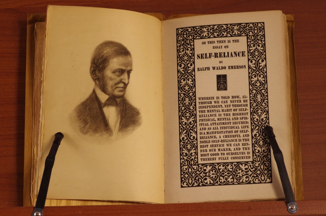 thesis of education by ralph waldo emerson