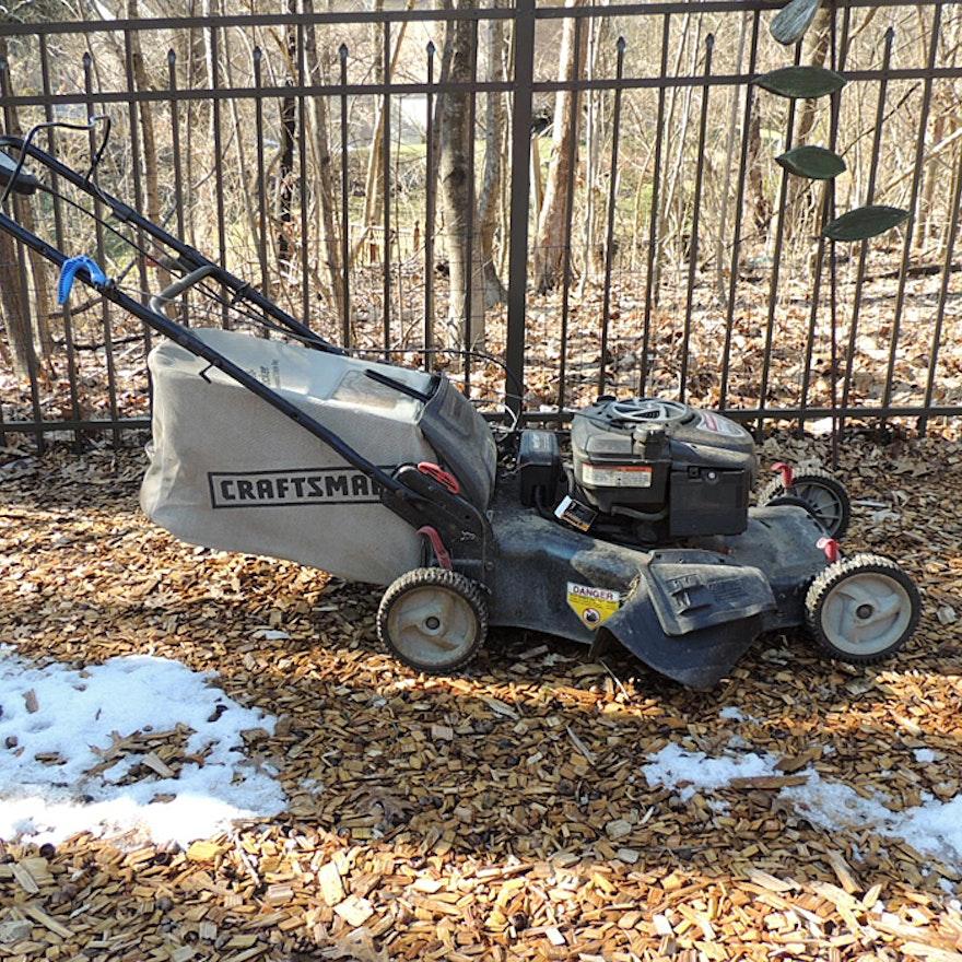 Craftsman Key Start Lawn Mower