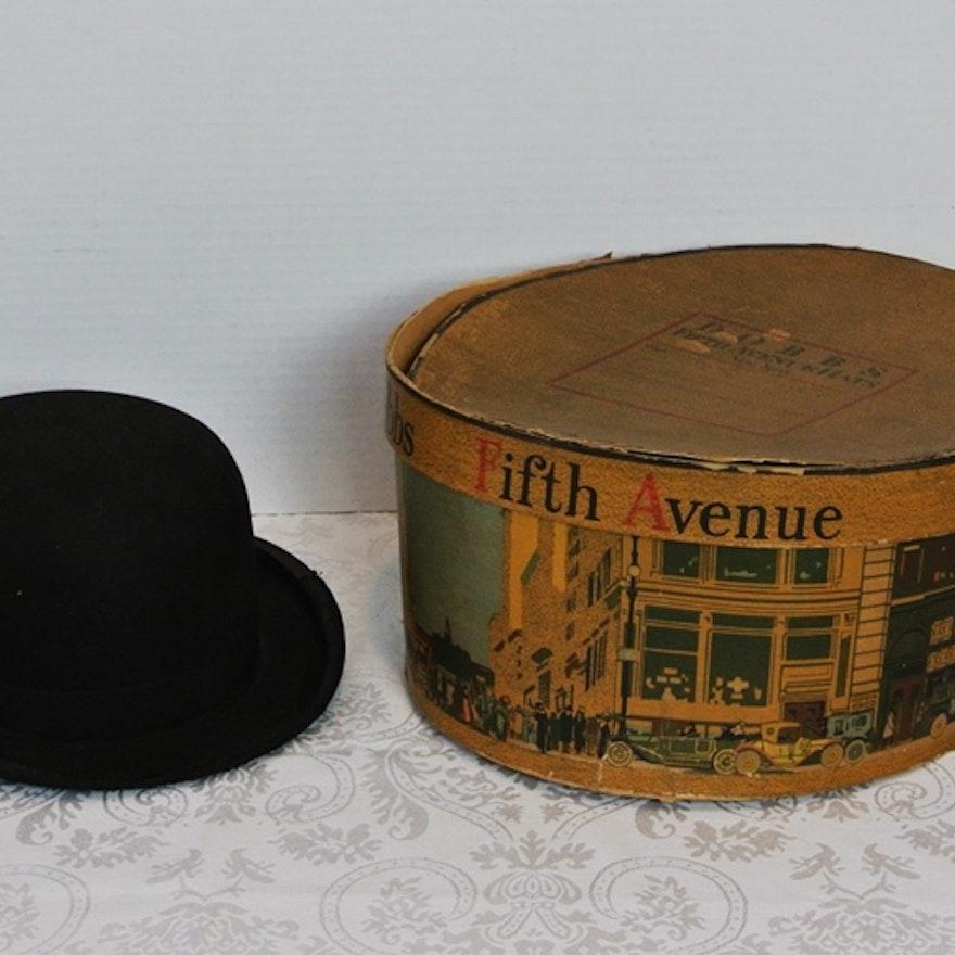 43c5960700a9a Vintage Boller Hat In Dobb s Box   EBTH