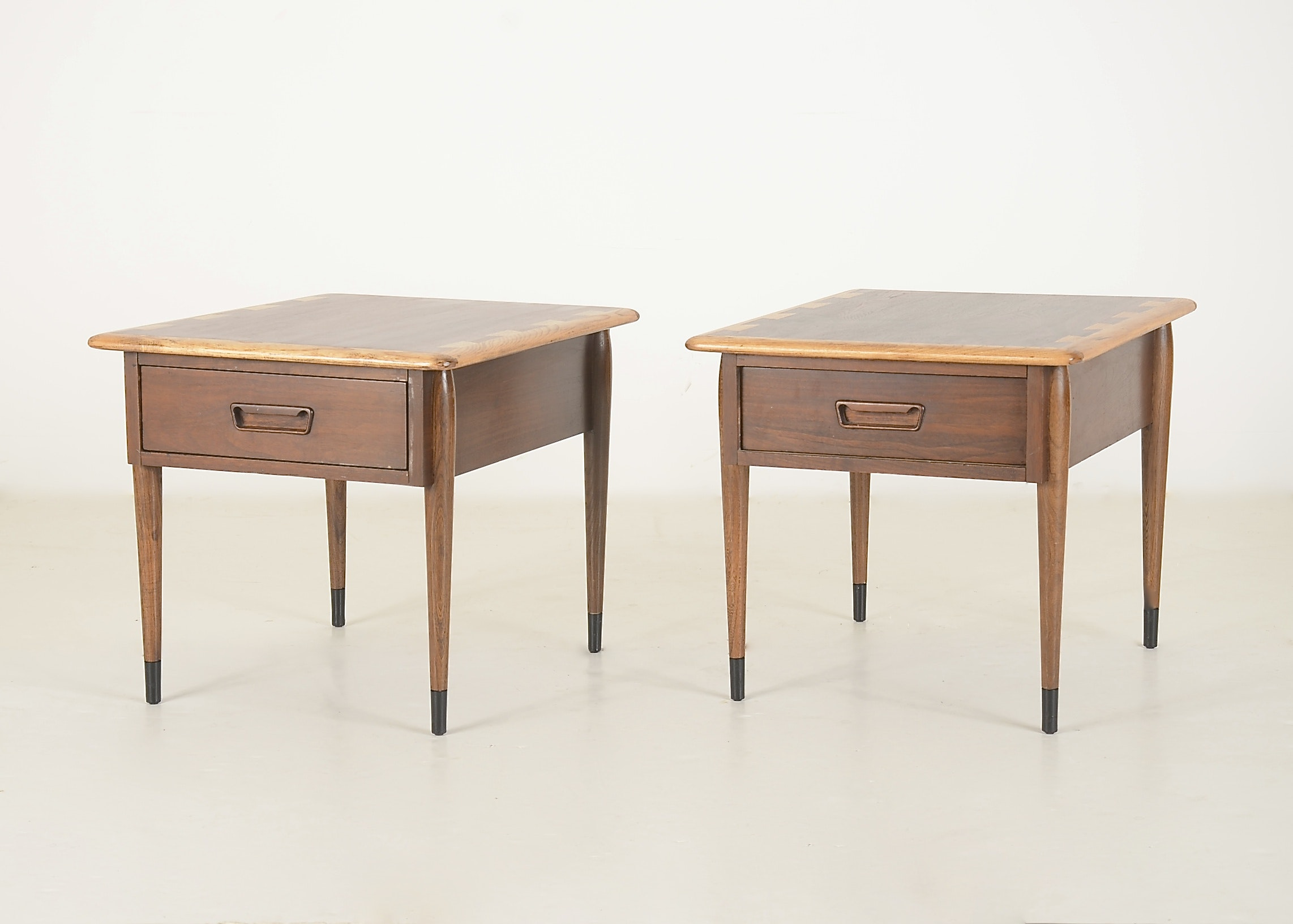 A Pair Of Mid Century Lane Side Tables