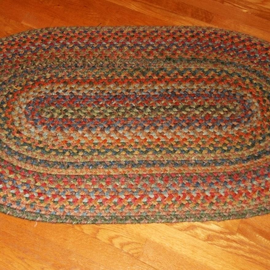 Vintage Braided Rug