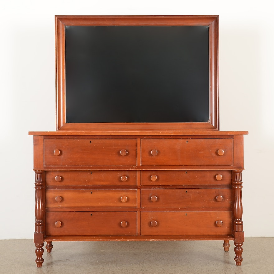 Best And Company Furniture: Solid Cherry Dresser Mirror
