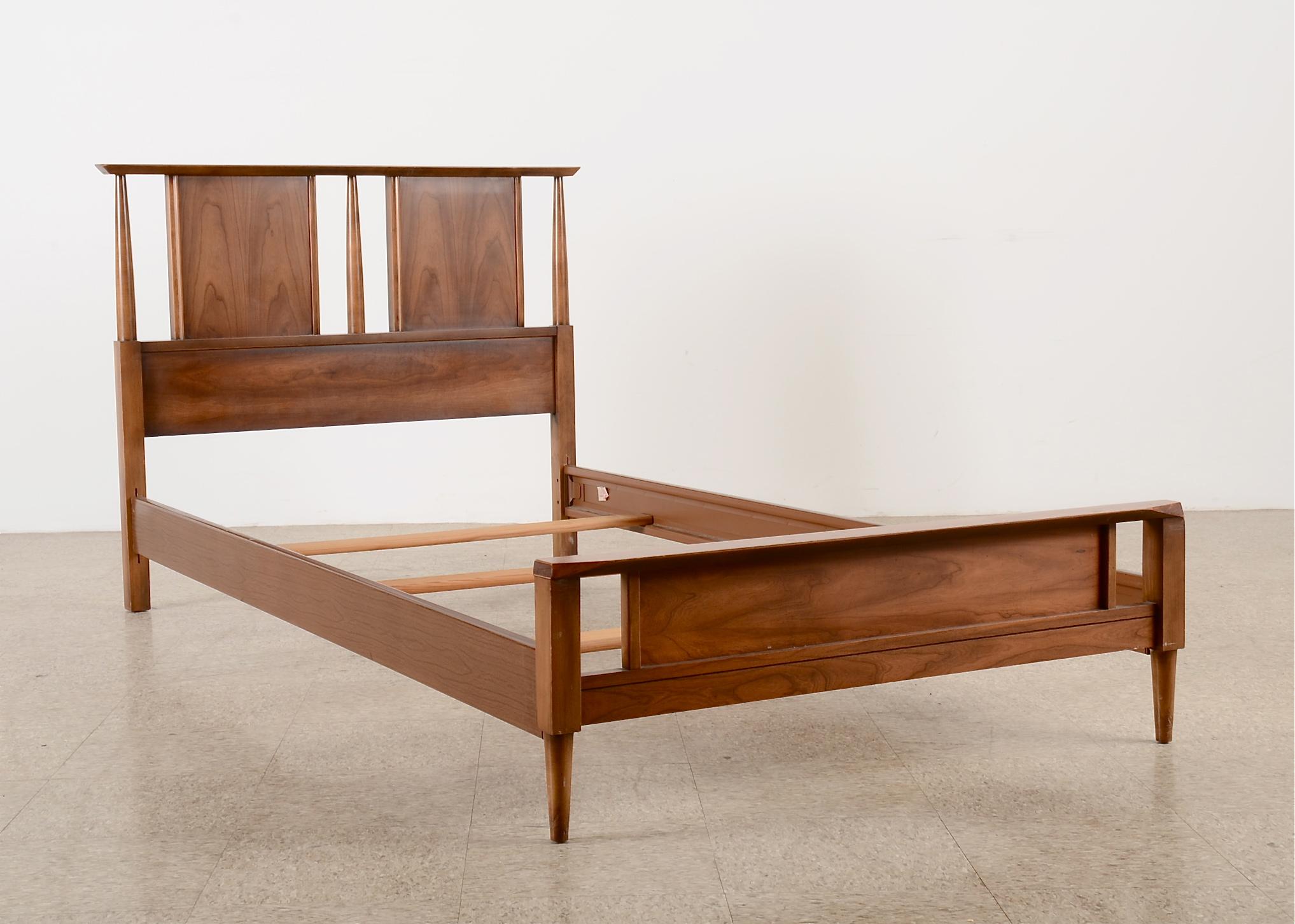MidCentury Modern Bed Frame Dixie Furniture EBTH