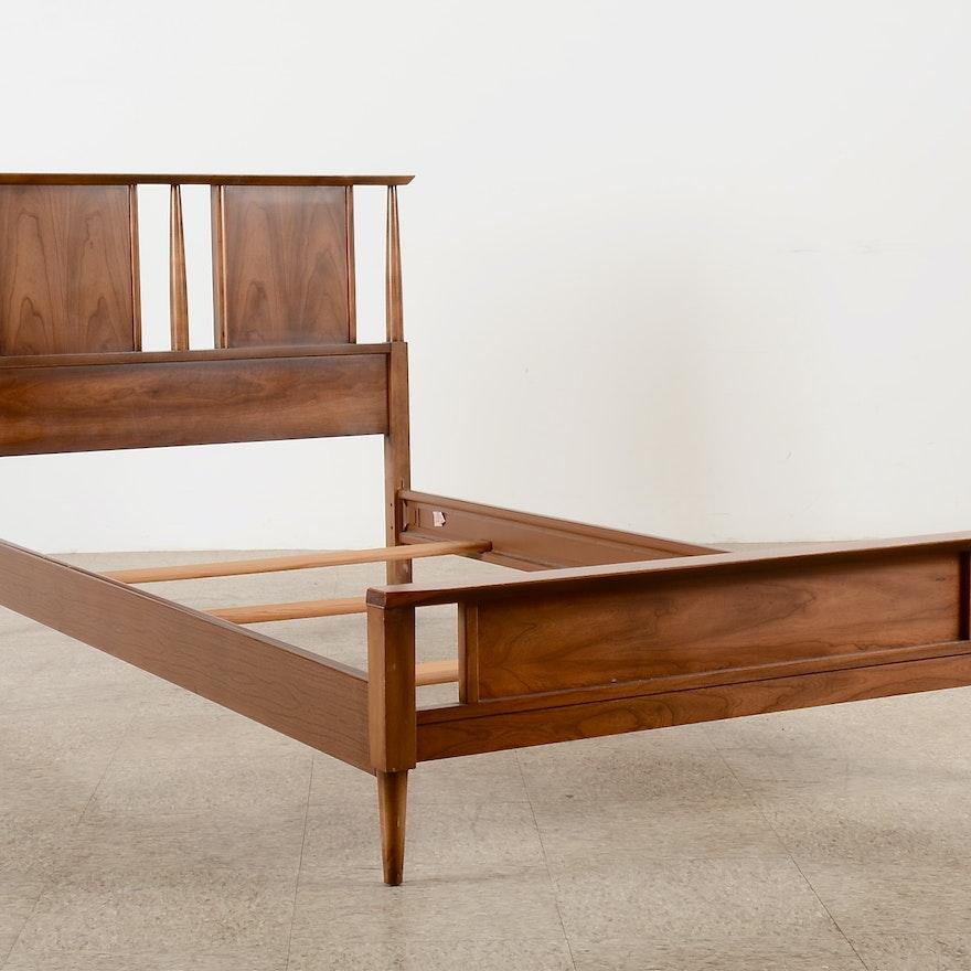 Mid Century Modern Furniture: Mid-Century Modern Bed Frame, Dixie Furniture