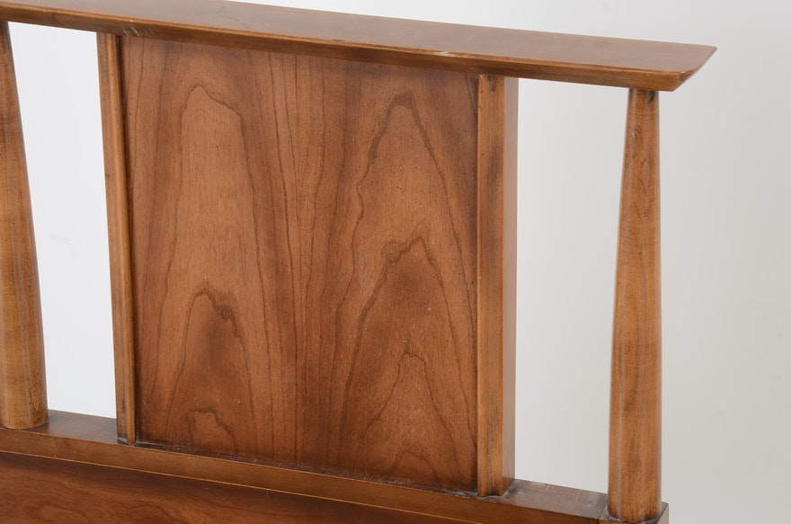 Mid Century Modern Bed Frame Dixie Furniture Ebth