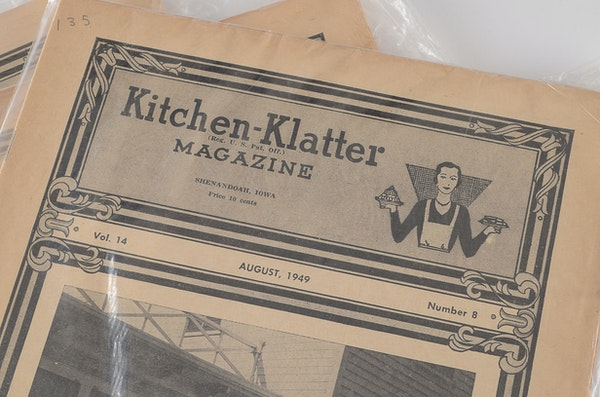 A Collection Of 1940 39 S And 1950 39 S Kitchen Klatter