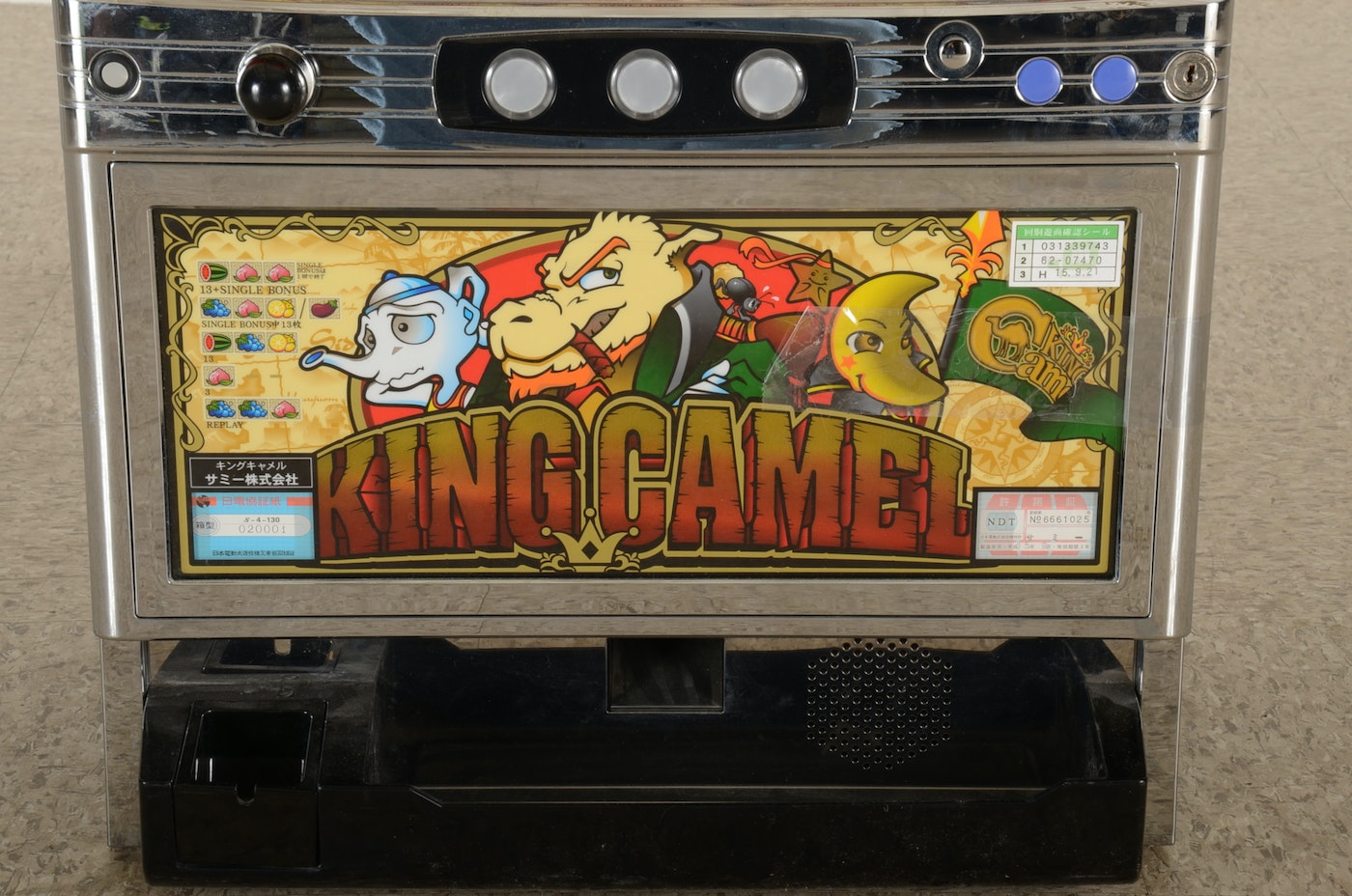 King Camel Slot Machine