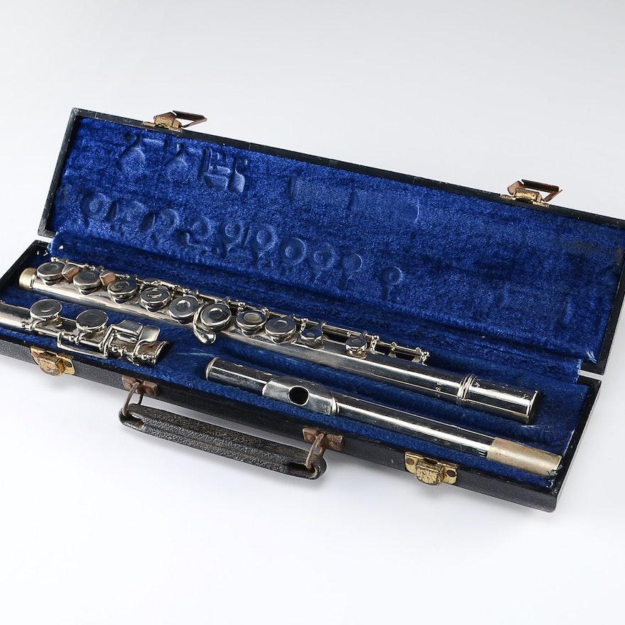 Vintage King Cleveland Silvertone Flute