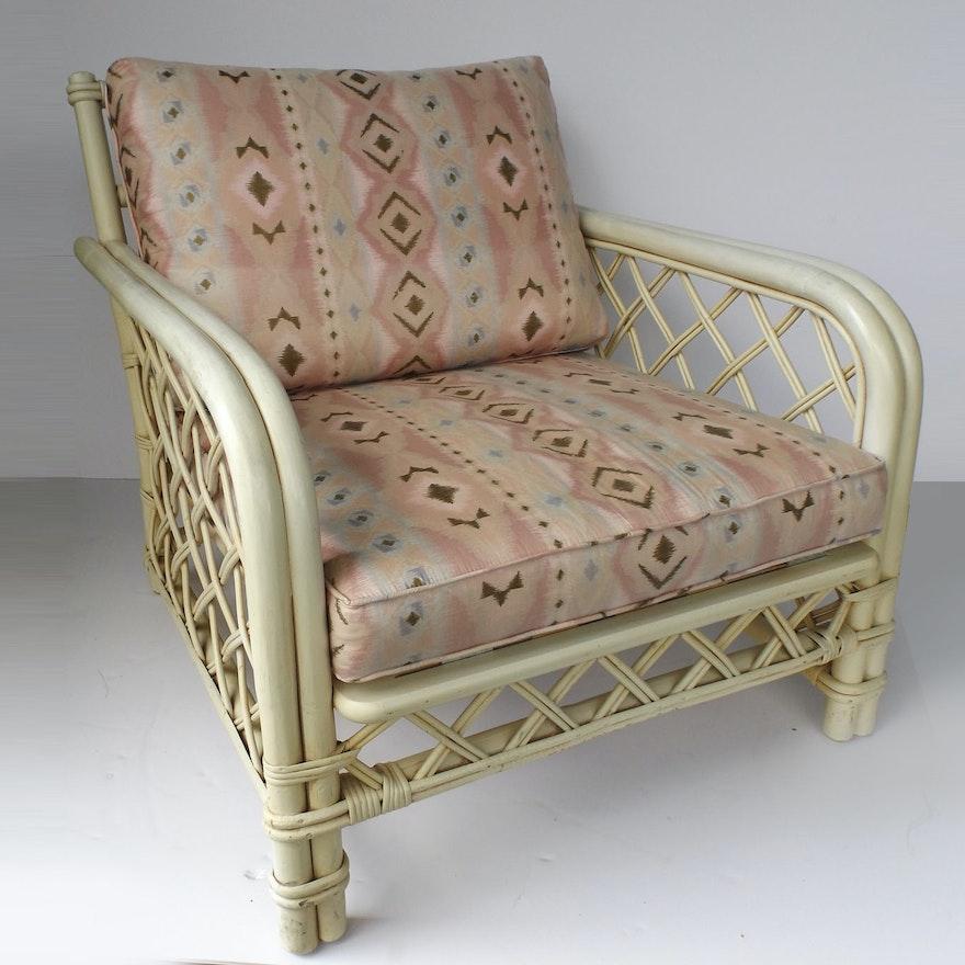 Mid Century Ficks Reed Rattan Chair
