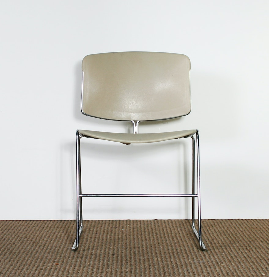 Vintage steelcase chairs - Vintage Steelcase Max Stacker Chair
