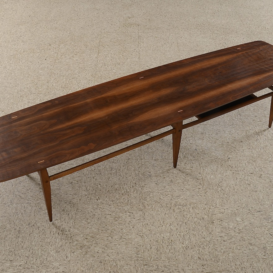 Mid Century Modern Lane Coffee Table, Style 991-09