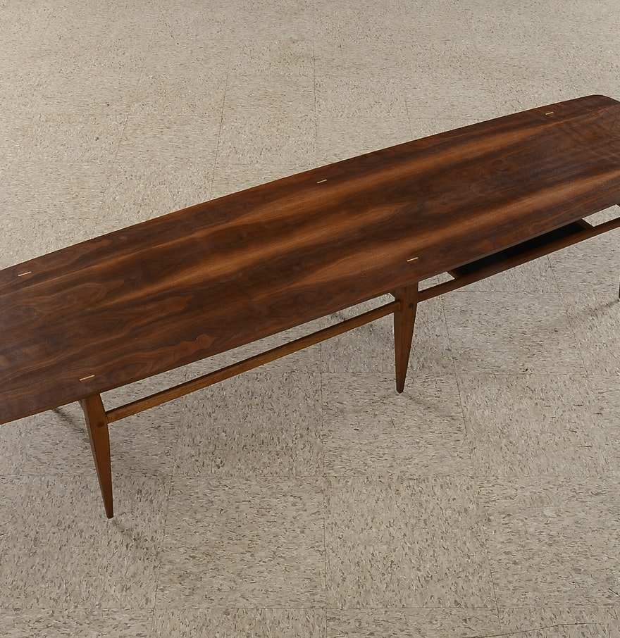 Lane Pearsall Style Mid Century Modern Coffee Table: Mid Century Modern Lane Coffee Table, Style 991-09 : EBTH