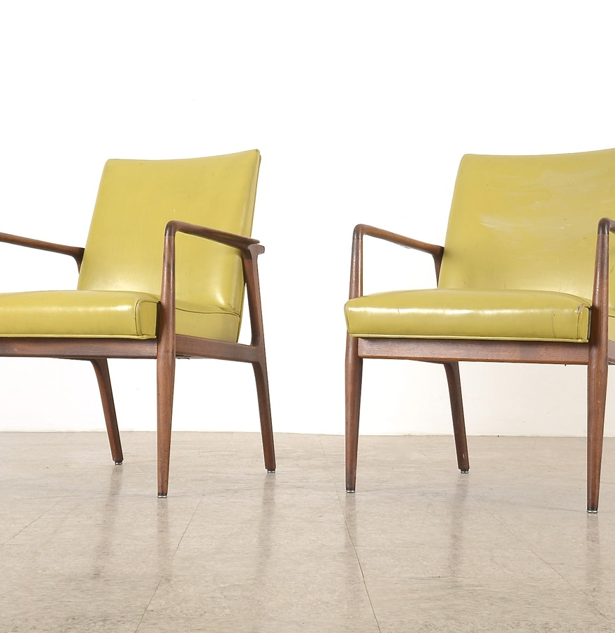 Pair of Stow amp Davis Furniture Company Chairs EBTH