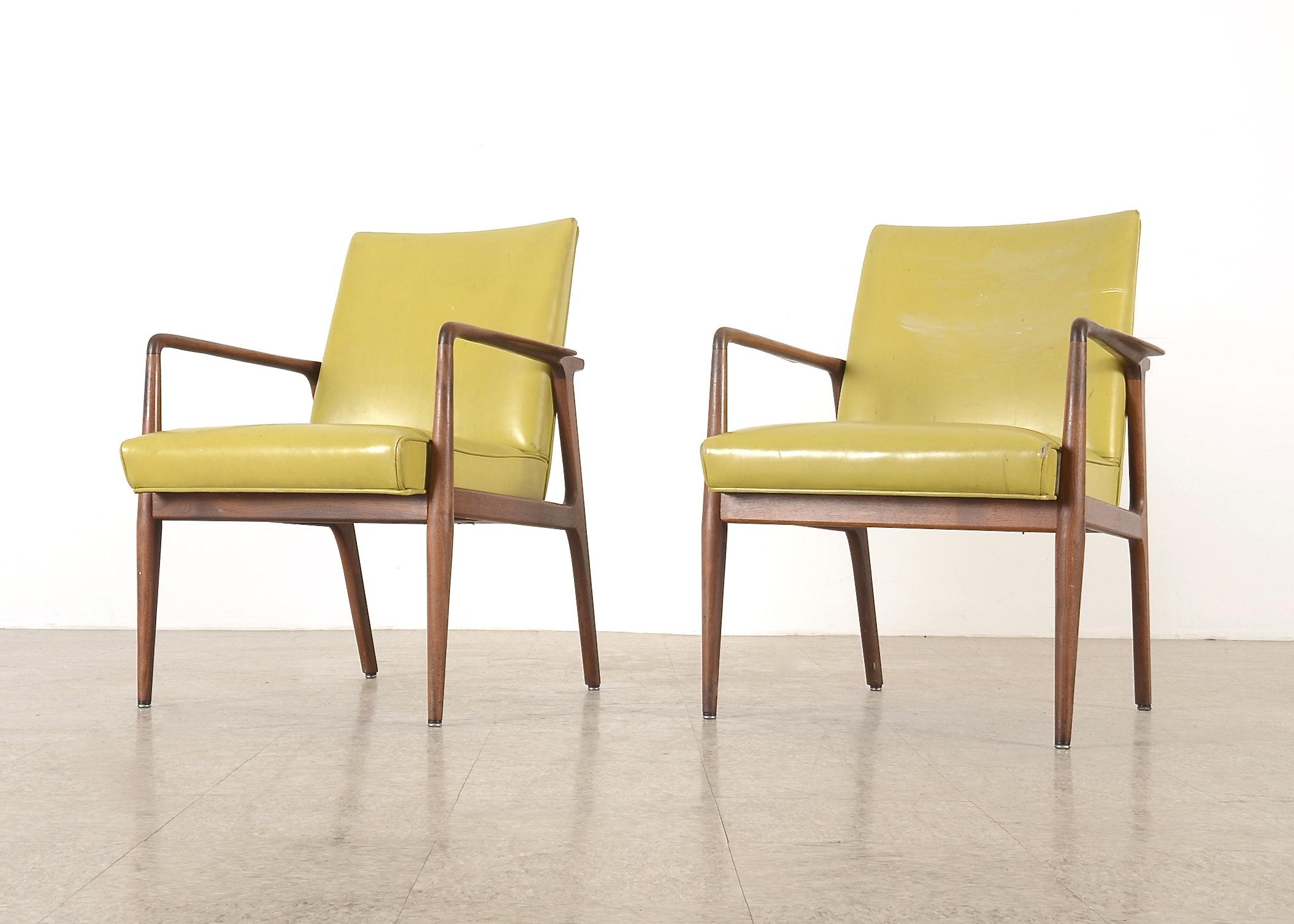 Pair Of Stow U0026 Davis Furniture Company Chairs ...