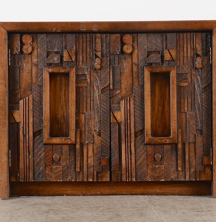 Lane Furniture Bedroom Night Stand, Brutalist Design : EBTH