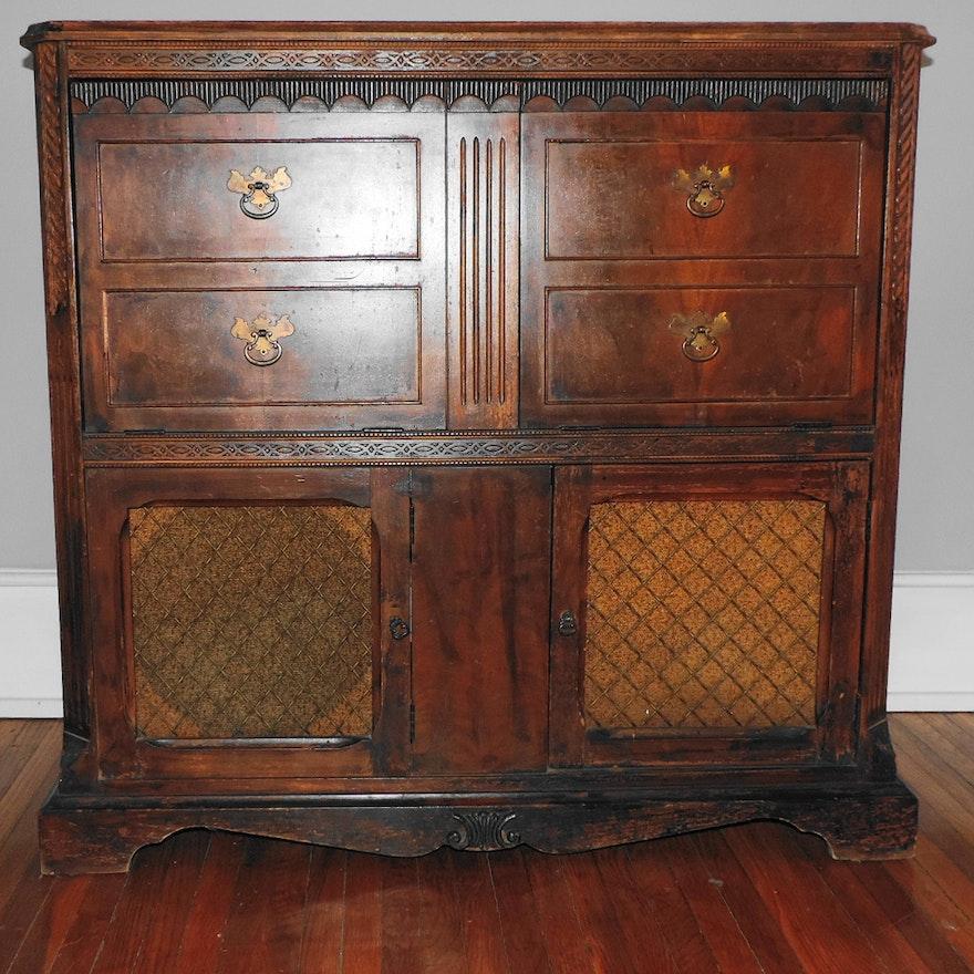 Antique Victrola Cabinet ... - Antique Victrola Cabinet : EBTH