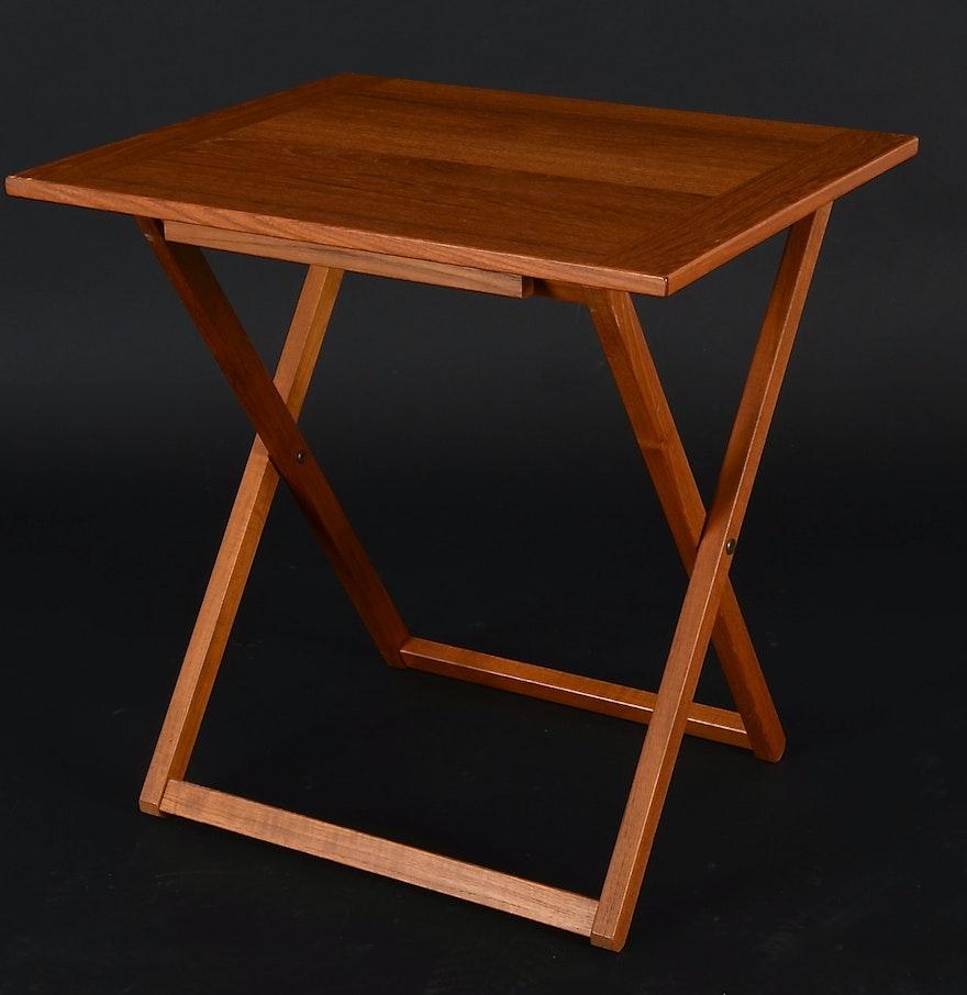Ansager Mobler A/S Danish Teak Folding Table : EBTH