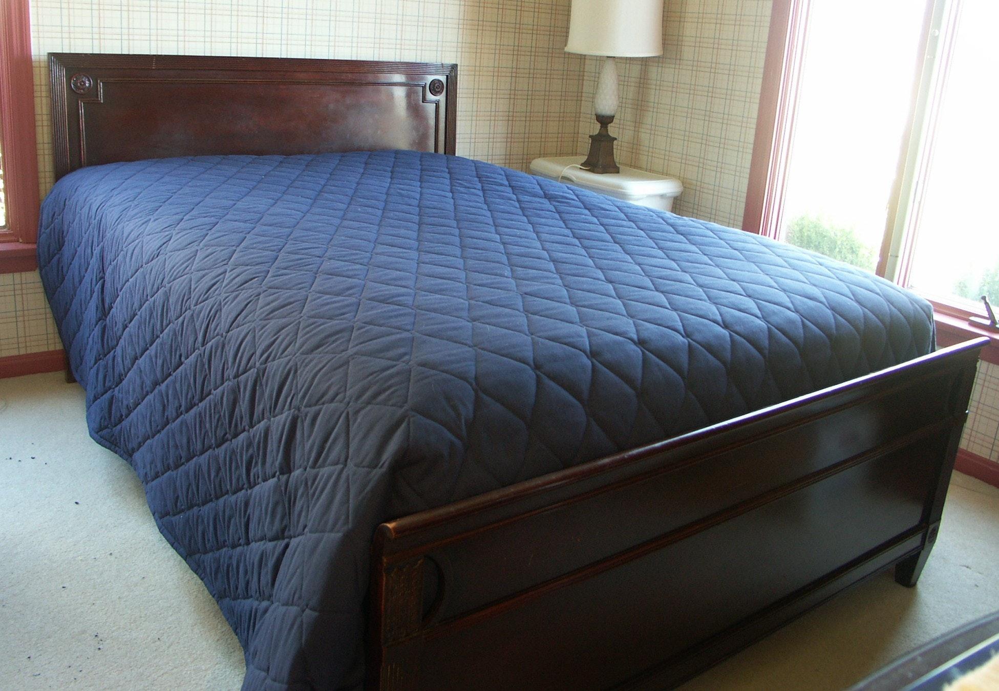 Vintage Federal Style Mahogany Finish Full Size Bed ...