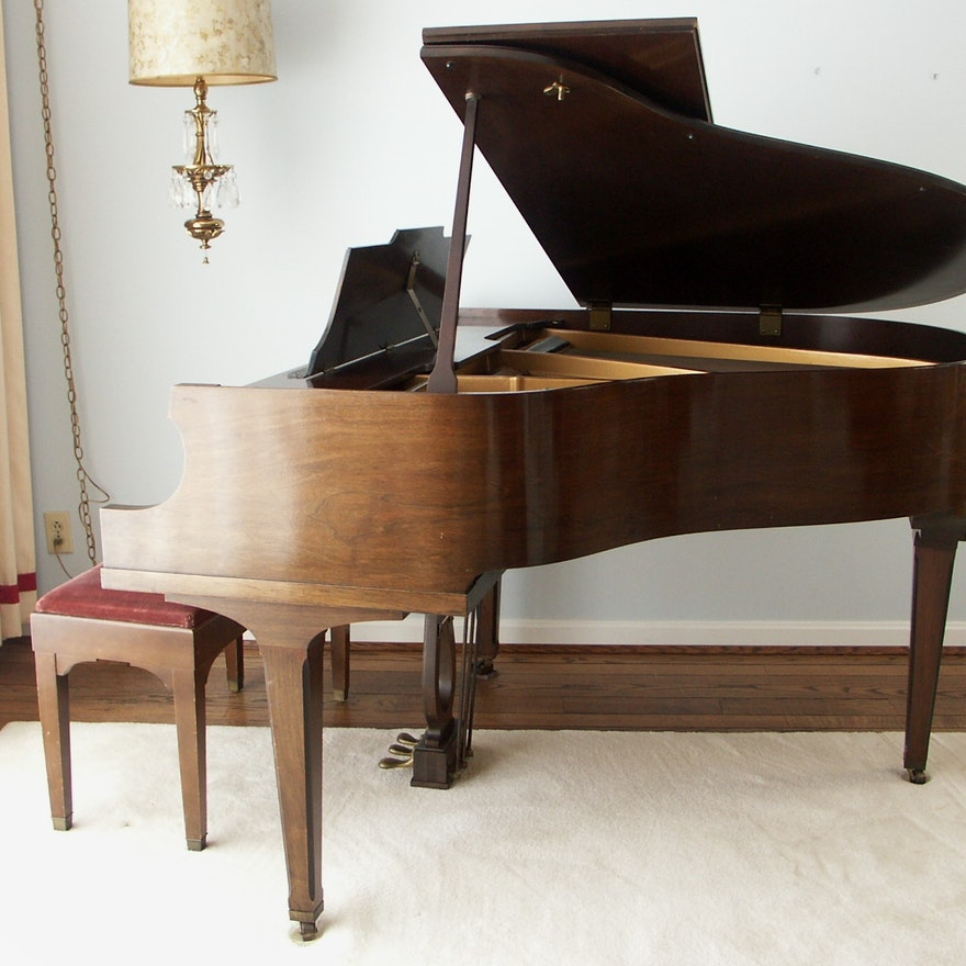 1930s Howard Baldwin Baby Grand Piano Ebth