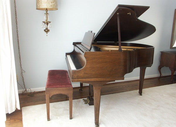 1930s Howard Baldwin Baby Grand Piano Ebth