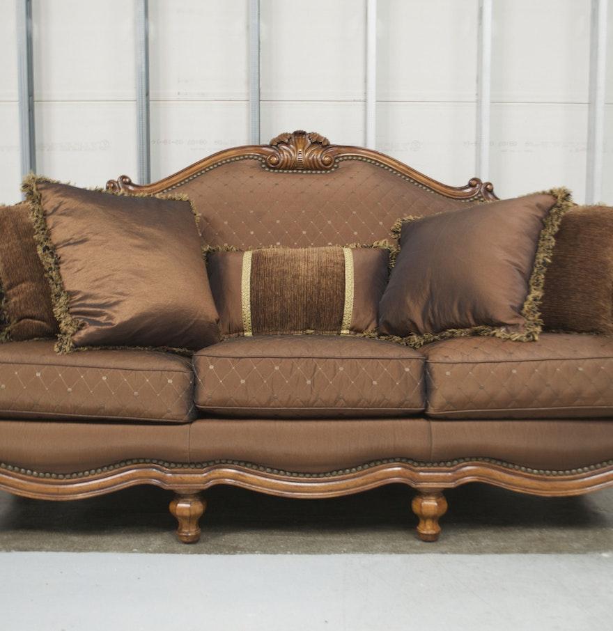 100 Thomasville Leather Sofa And Loveseat