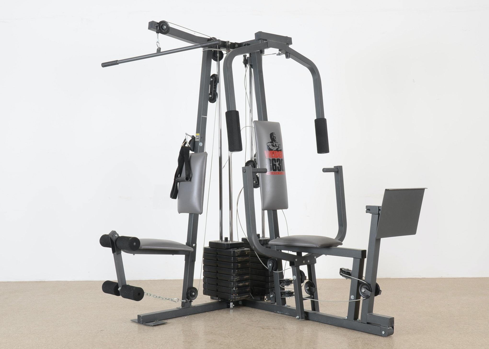 Weider 8630 Training System Home Gym