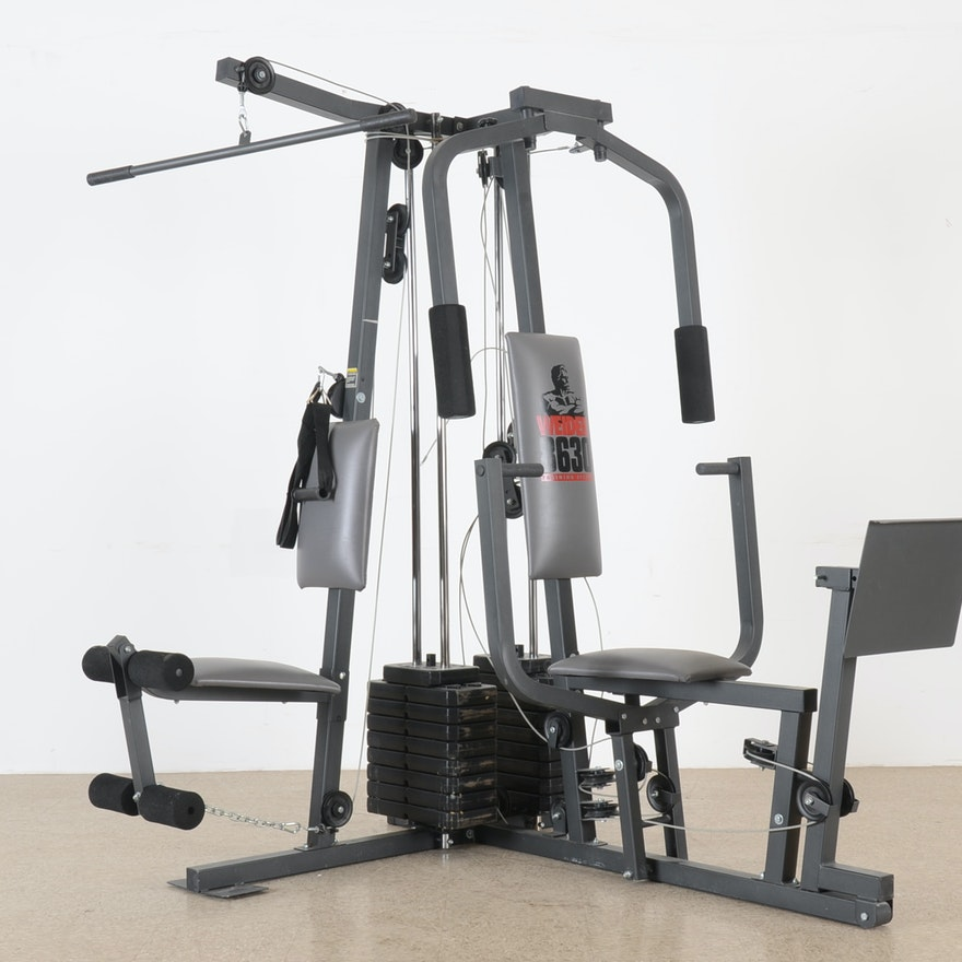 Weider training system home gym ebth