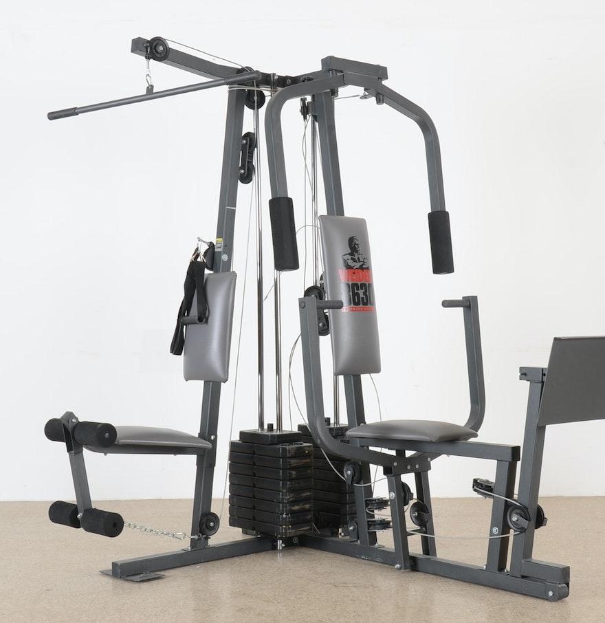 Weider training system home gym ebth