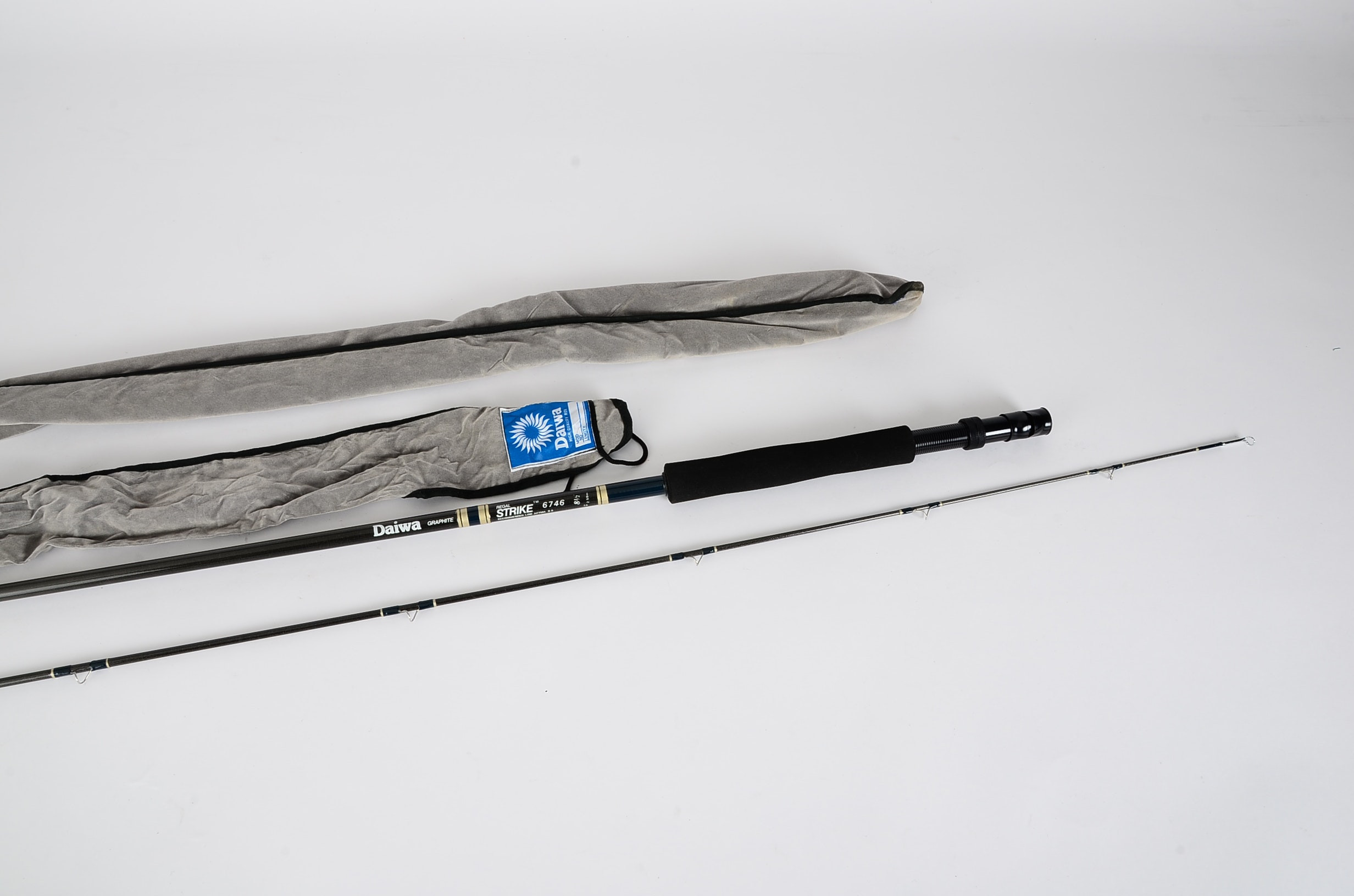 Two Daiwa Graphite Regal Strike Fly Fishing Rods