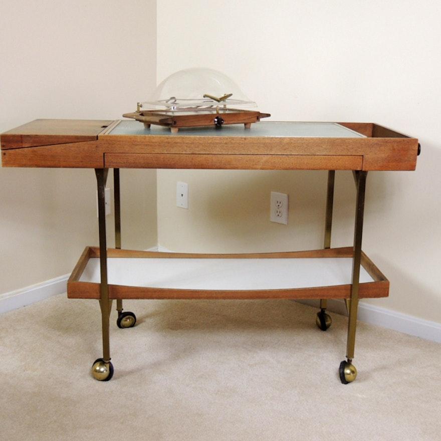 Salton Hotable Heated Buffet Serving Cart And Bun Warmer