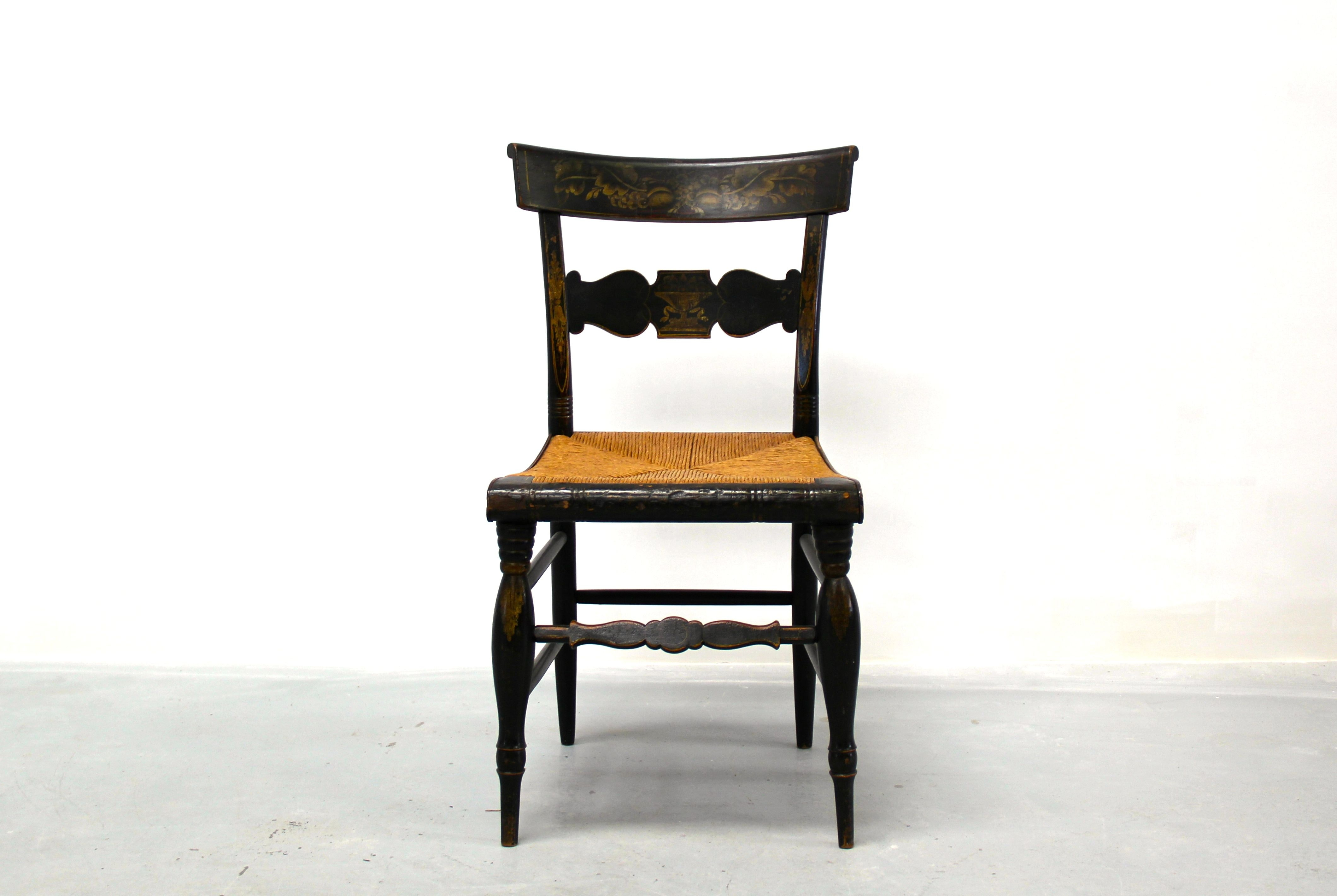 Antique Hitchcock Chair ...