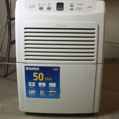 kenmore 50 pint dehumidifier manual