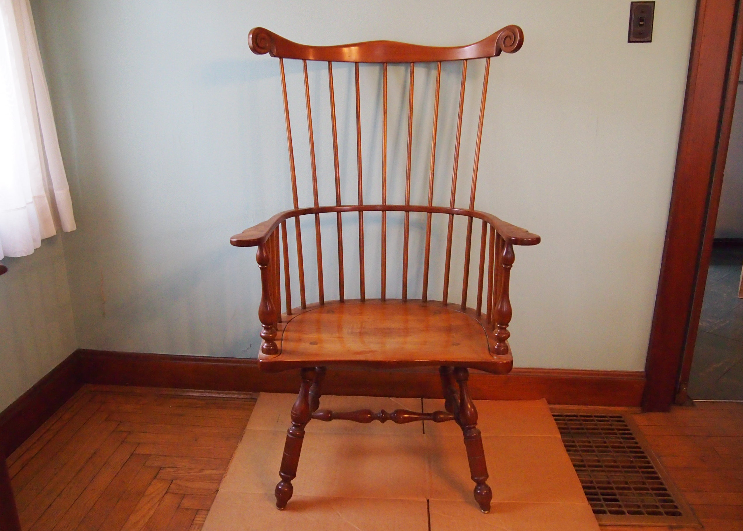 Leopold Stickley Windsor Style Chair ...