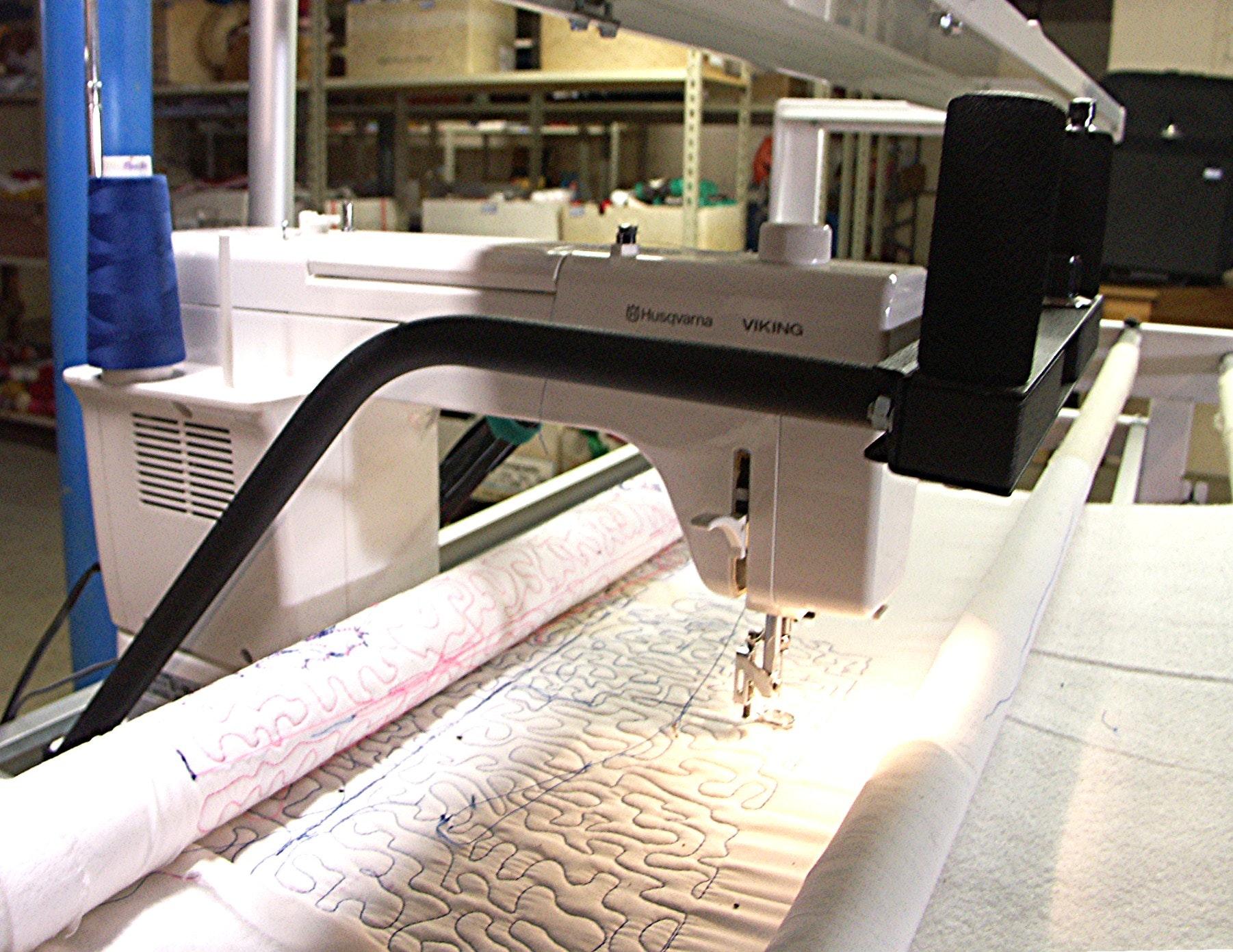 husqvarna viking mega quilter sewing machine