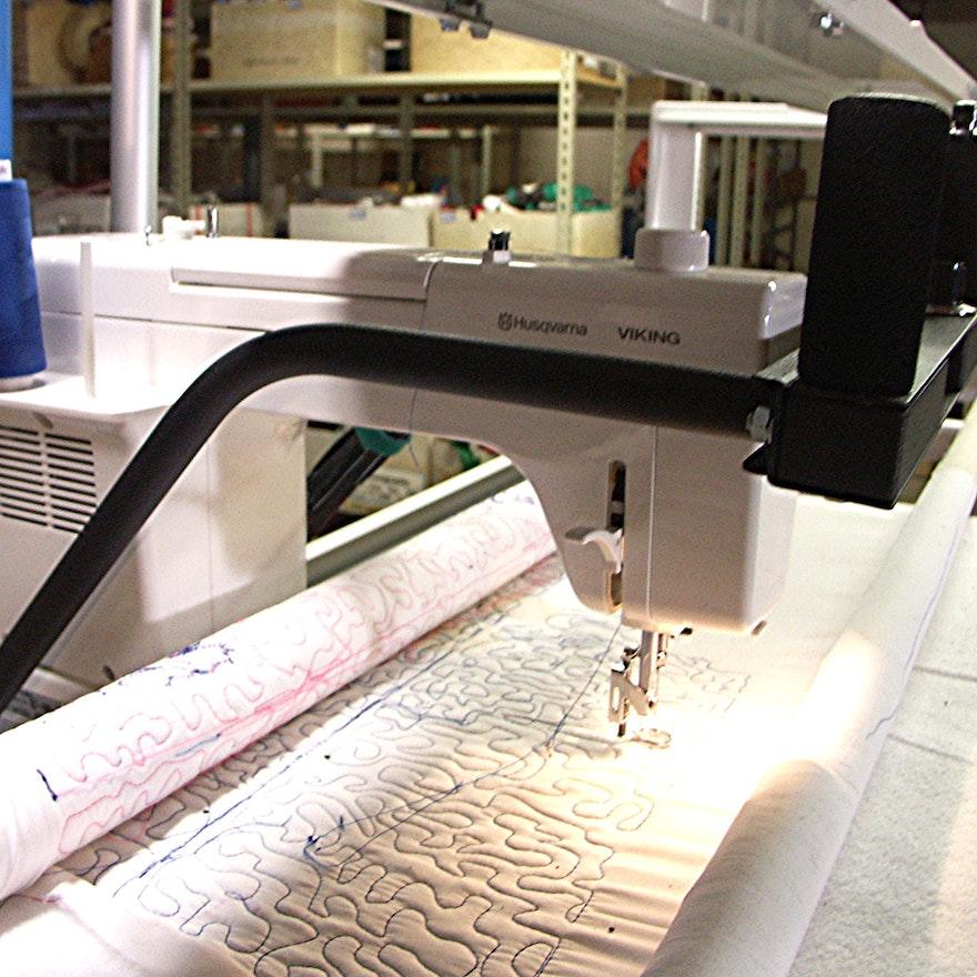 Husqvarna Viking Mega Quilter Machine and Inspira Quilting Frame ... : inspira quilting frame - Adamdwight.com