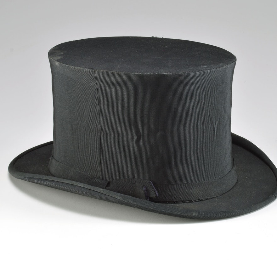 4ee89e625ca71 Early 20th Century Mabley   Carew Gentleman s Collapsable Top Hat   EBTH