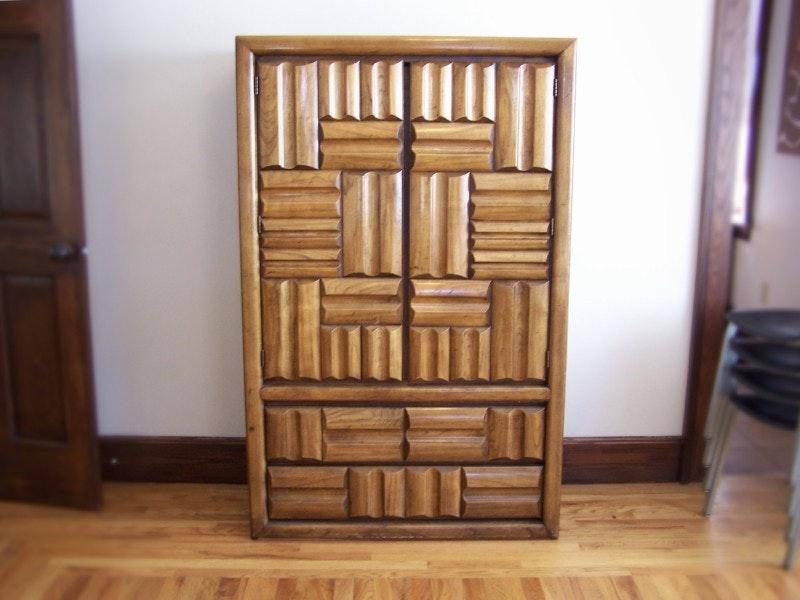 Vintage Lane Furniture Clothing Armoire