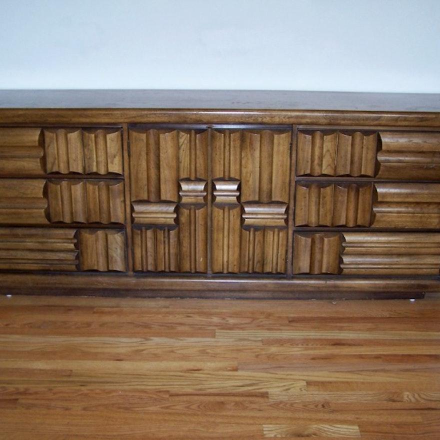 Northside Auto Sales >> Vintage Lane Furniture Low Dresser in Paul Evans' Style : EBTH