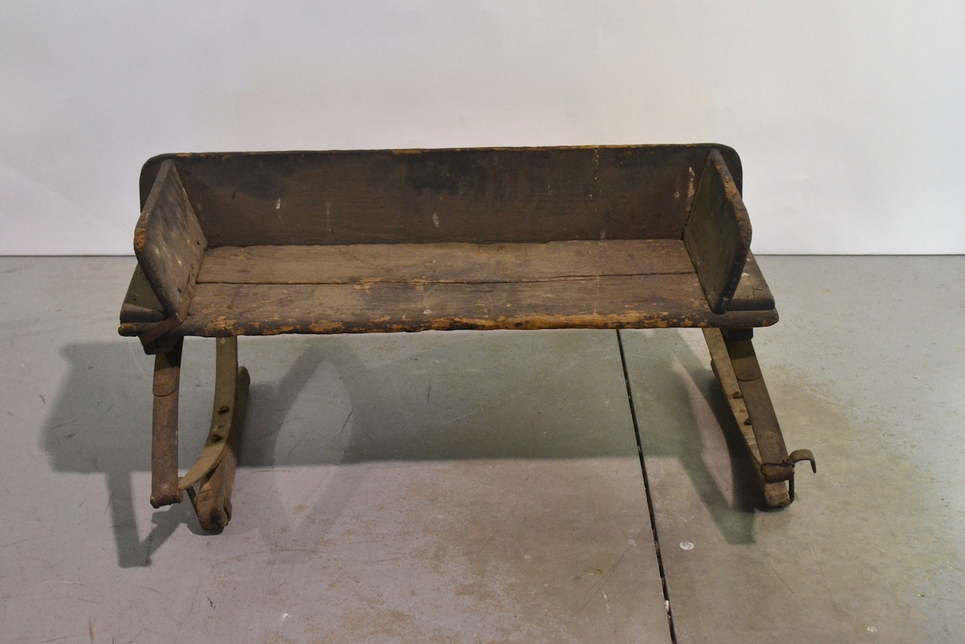 Antique Buggy Seats : Antique wooden buckboard buggy carriage seat ebth