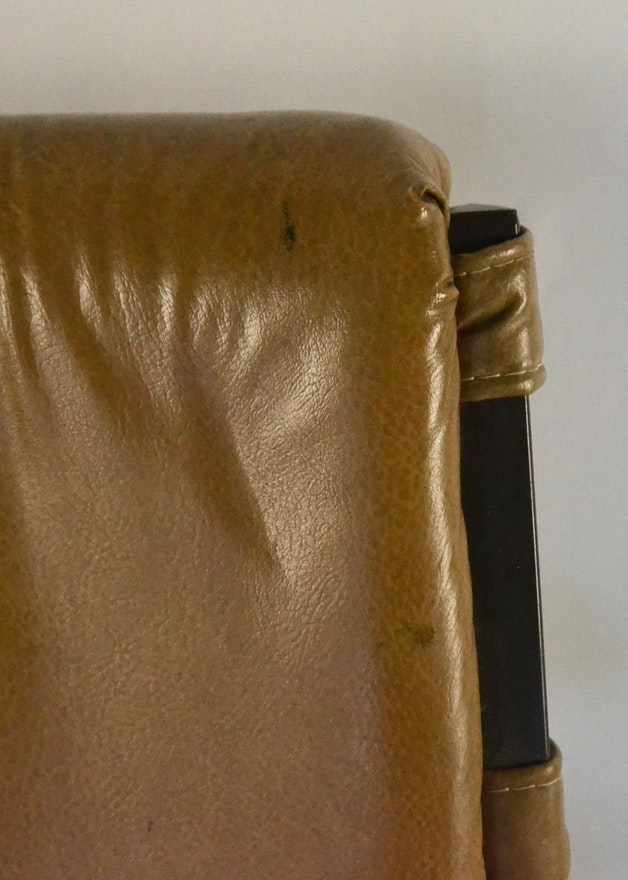 Mid Century Modern Leather Directors Chairs Ebth
