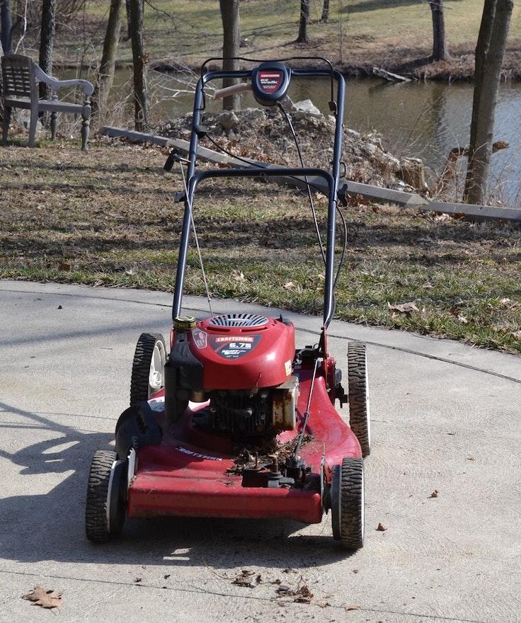 Craftsman 6.75 HP Ready Start 22 Inch Cut Gas Lawn Mower