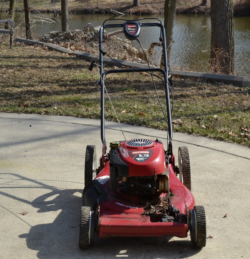 2014 Craftsman 30 Hp Garden Tractor : Craftsman hp ready start inch cut gas lawn mower