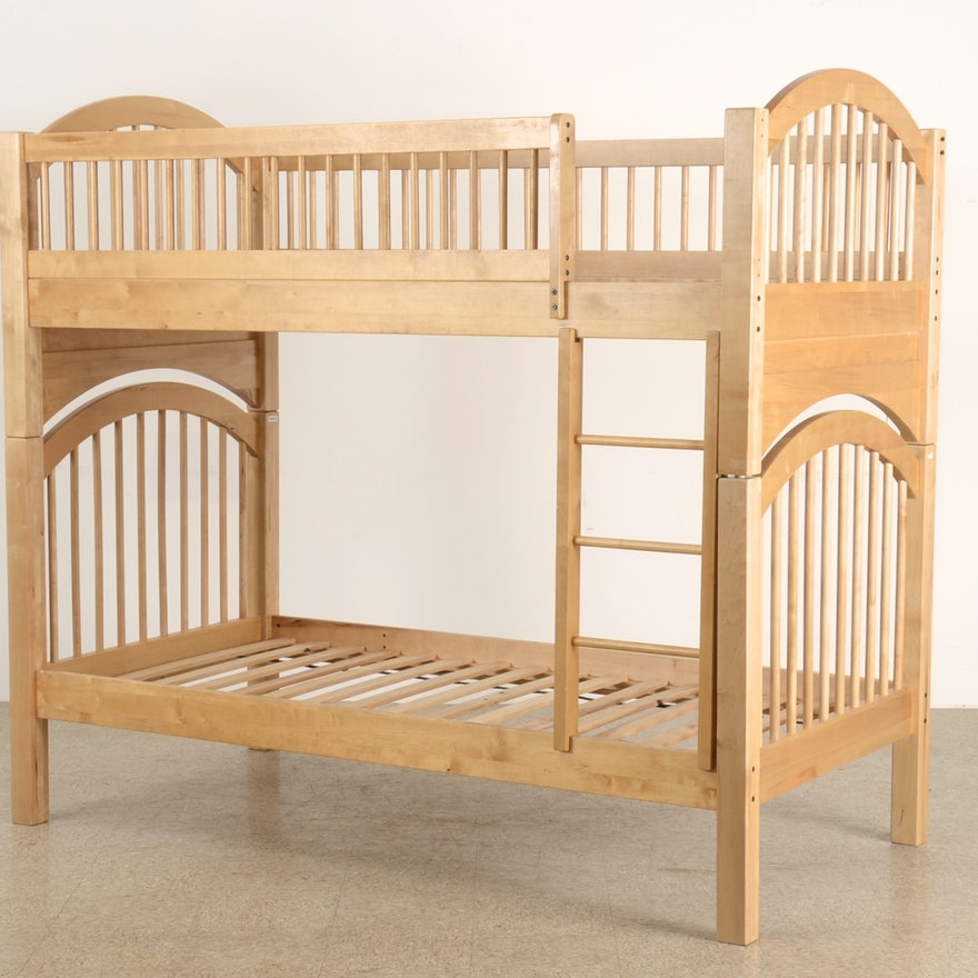 Birch Bunk Bed Ebth