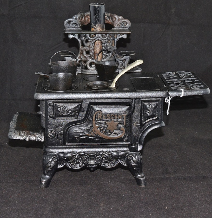 Painted Cast Iron Wood Stoves