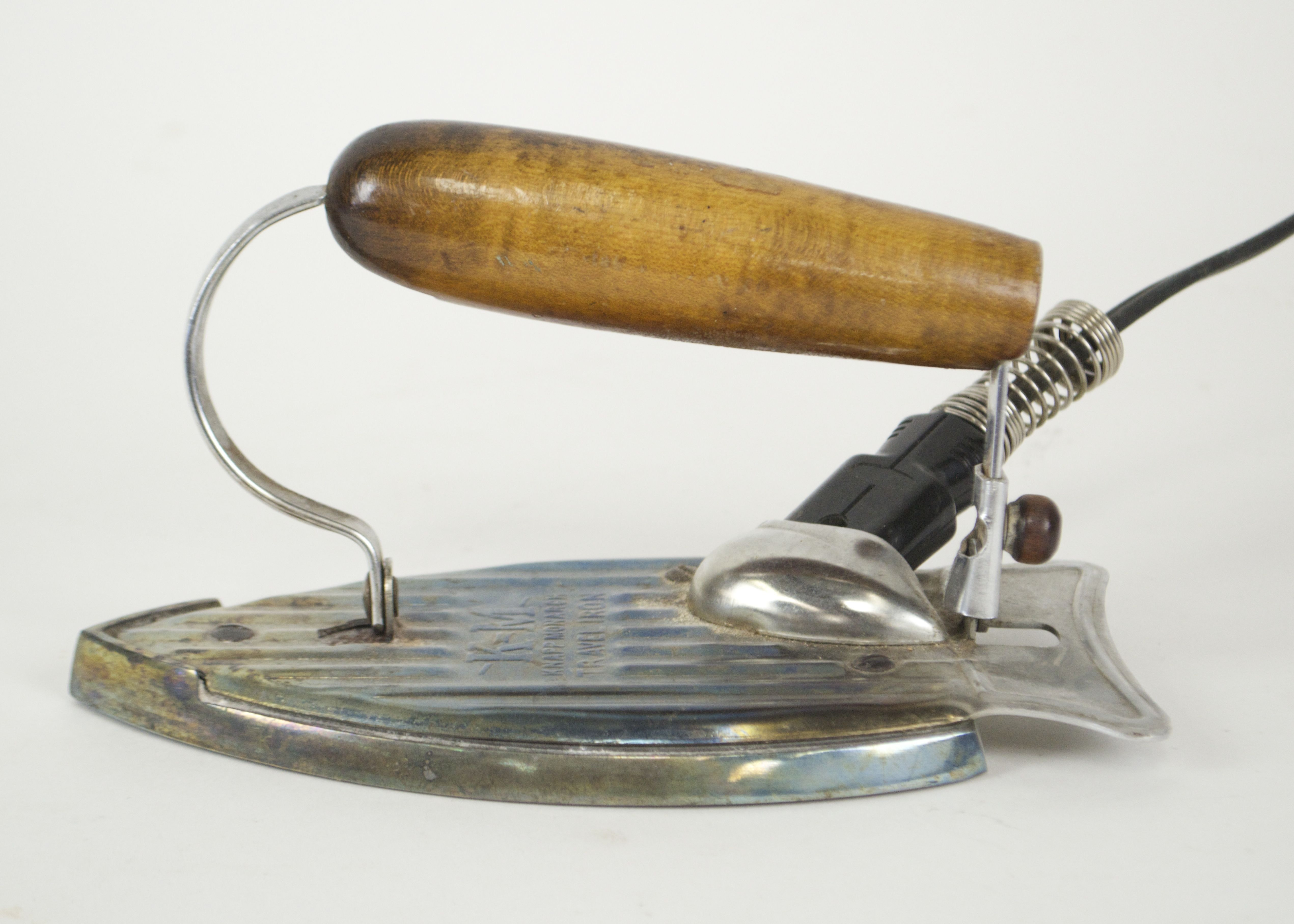 Vintage Knapp Monarch Travel Iron