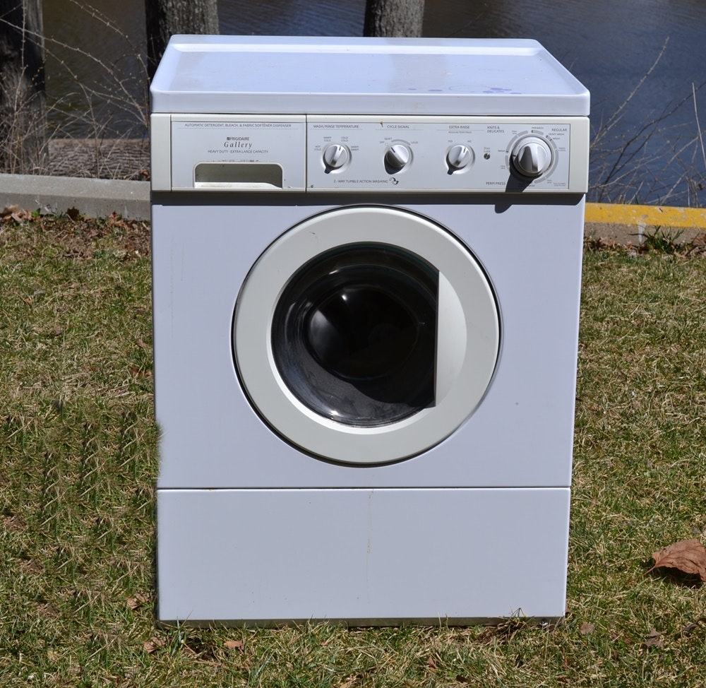 Frigidaire gallery front load washing machine ebth - Washing machine for small spaces gallery ...