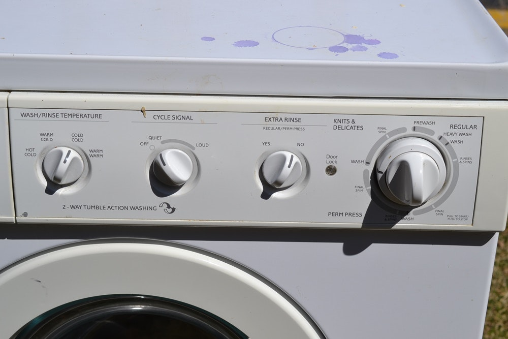 frigidaire gallery front load washing machine